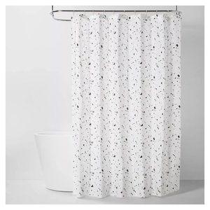 NWT Terrazo Fabric Shower Curtain Room Essentials